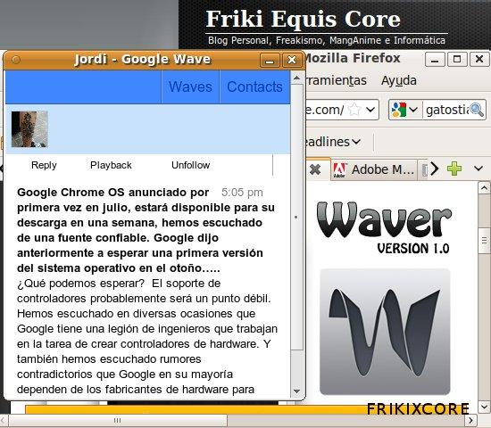 Frikixcore Google Wave