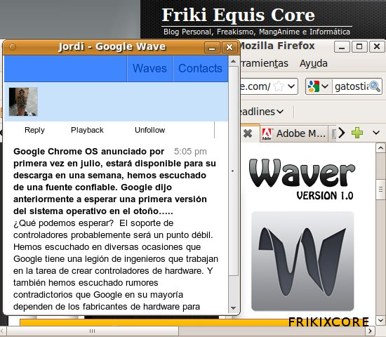 Frikixcore Google Wave